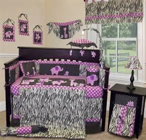 Sisi baby girl boutique animal planet purple 13 pcs crib bedding