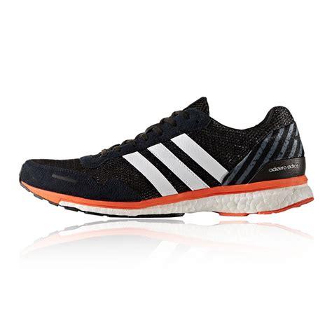 Adidas Sport Running adidas adizero adios mens orange black running sports
