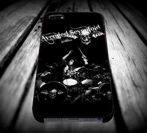 Avenged Sevenfold Logo Iphone 4 4s 5 5s 5c 6 6s 7 Plus avenged sevenfold rip the rev iphone from thecovercase