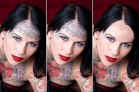 bombshell tattoo removal gallery for gt bombshell mcgee before the tattoos