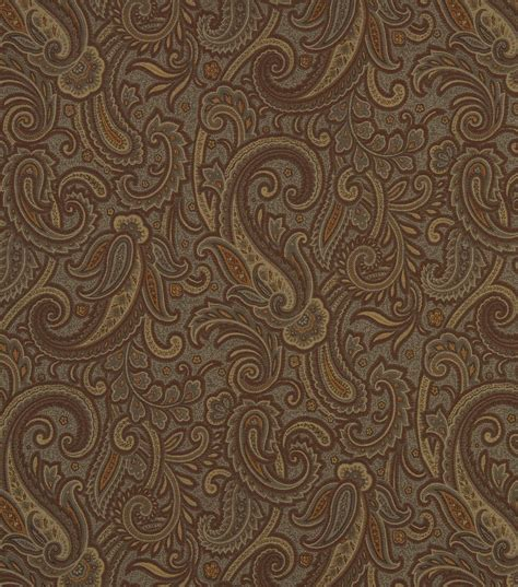 home decor 8 x 8 swatch robert allen modern paisley
