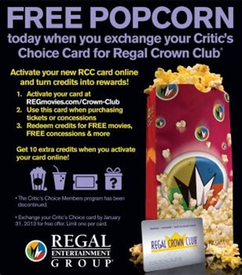 regal cinema popcorn deals