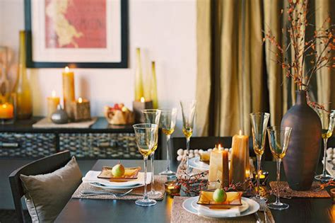 tablescapes thanksgiving table setting 2012 modern thanksgiving tablescaping ideas from the pros