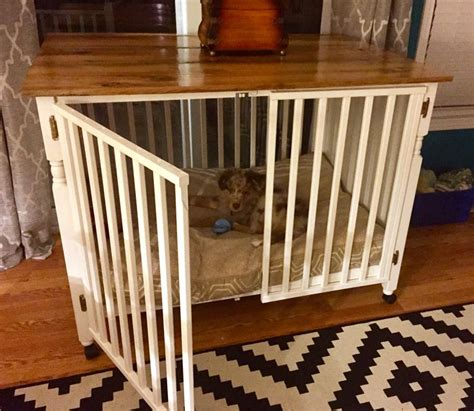 repurposed table top ideas 106 best images about bed kennel in cabinet ideas on