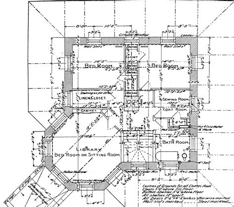 a floor plan of a house file himmelwright stone house 2nd floor plan jpg