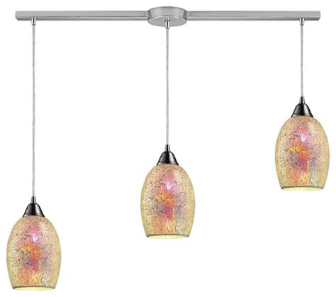 Three Light Satin Nickel Multi Light Pendant Tropical Multi Pendant Lighting Kitchen