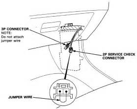 ignition timing service connector honda tech honda