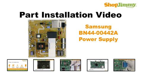 Power Supply Samsung La32a450c1spare Part Tv samsung bn44 00442a power supply unit psu boards