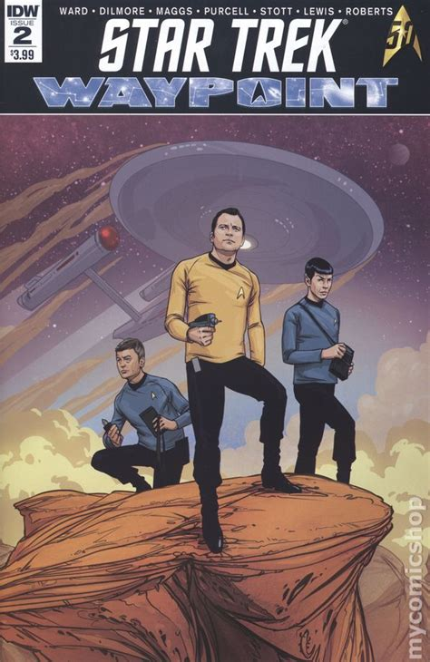 trek waypoint comic books issue 2