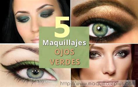 imagenes ojos verdes maquillados 5 maquillaje ojos verdes