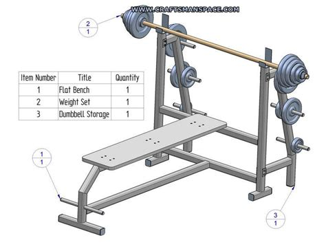 homemade bench press olympic flat bench press plans