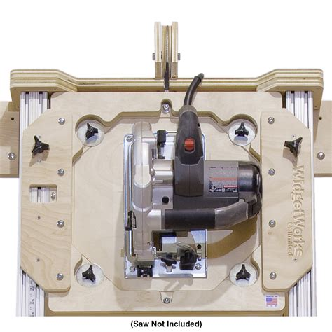 circular saw table mount panel saw build your own and woodworking plans on