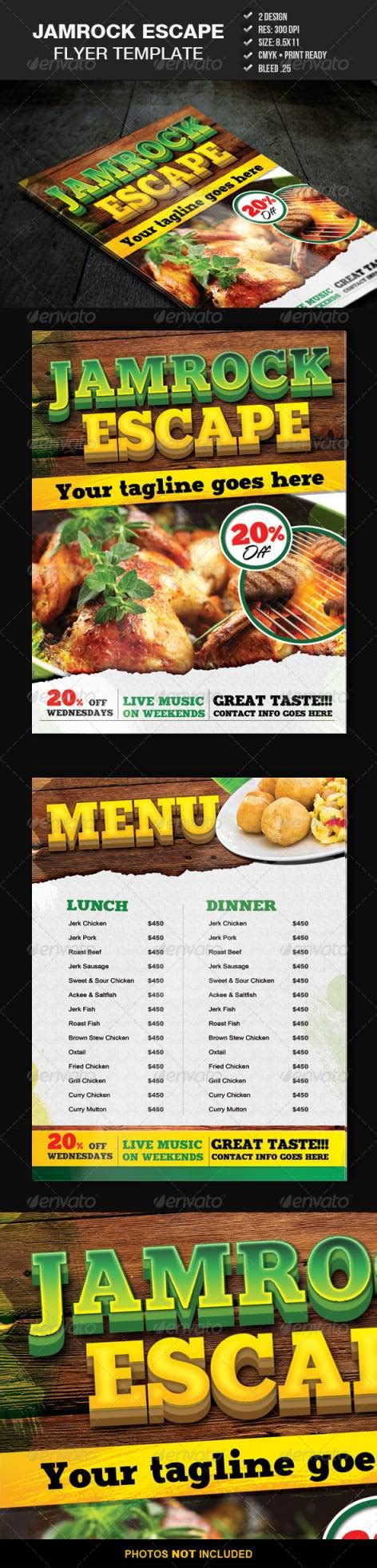 flyer design jamaica 45 best restaurant and food flyer templates