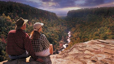 lookout mountain and little river canyon, alabama places