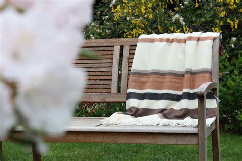 Decke Ocker by Wolldecke Quot Toscana T2 Ocker Braun Schwarz Wolldecken Und