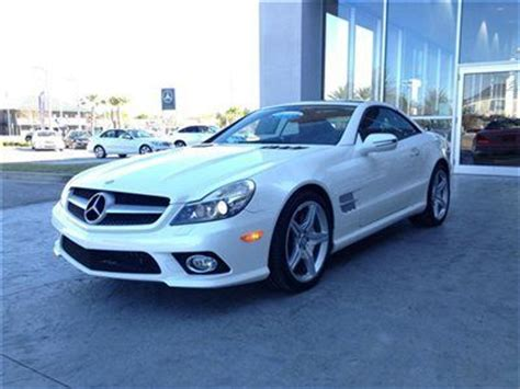 find used 2011 mercedes benz sl550 roadster certified pre