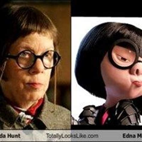 linda hunt the incredibles edna mode celebrity linda hunt totally looks like edna mode edna mode and hunt s