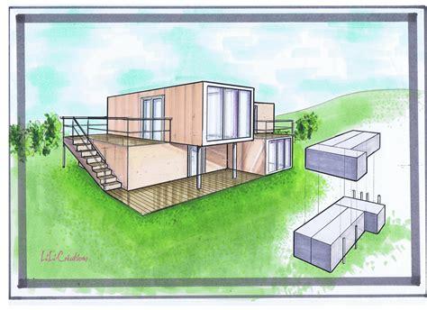 maison container a vendre 1163 charmant plan maison deux etages 4 maison container 20