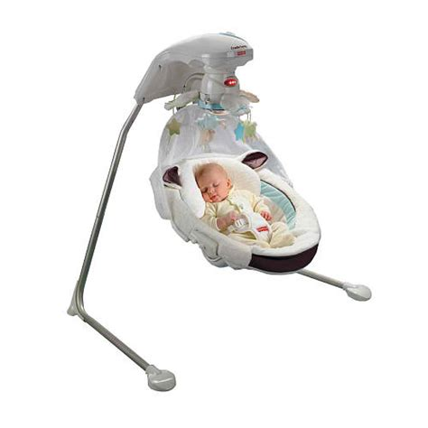 baby on swing the lowdown on the best baby swings bouncers and rockers