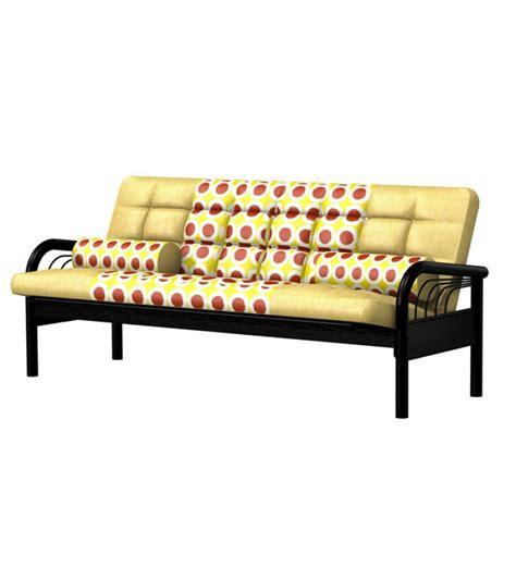 futon sofa cum bed fk full metal sofa cum bed futon by furniturekraft