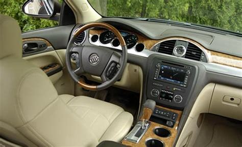 buick enclave interior pictures car and driver