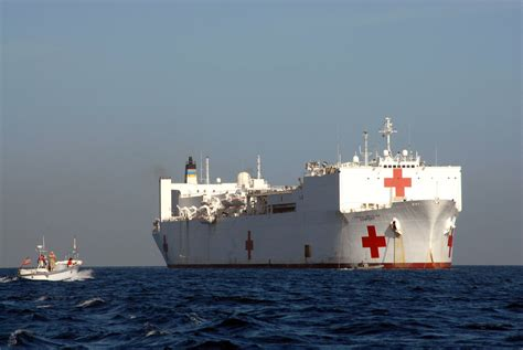 usns comfort deployment file us navy 070902 n 8704k 019 a utility boat approaches