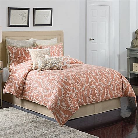 bed bath and beyond comforters king buy coralie california king comforter set from bed bath