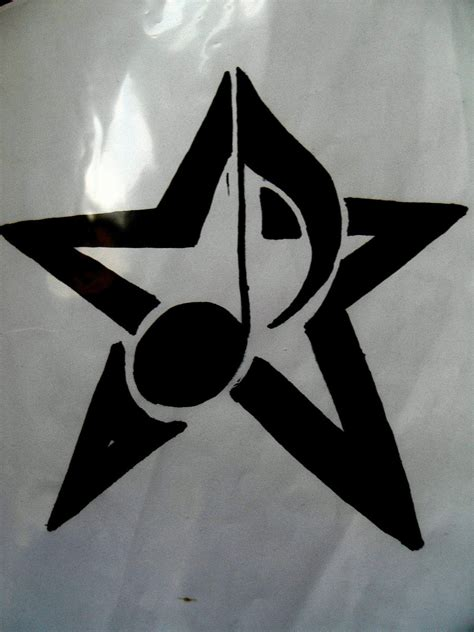 music notes and stars tattoo designs orekiul tattooo skull l