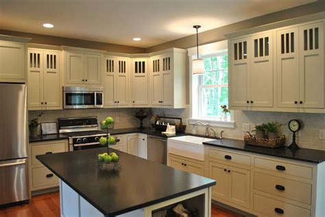 Cabinets Black Granite by White Cabinets With Granite Countertops Home Ideas