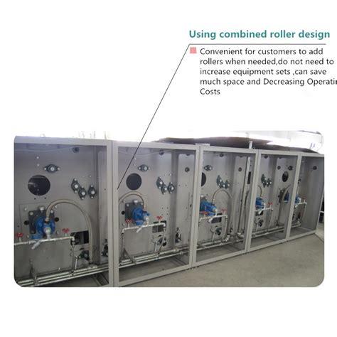 Mesin Setrika Otomatis industri laundry rol besi lembar mesin setrika komersial