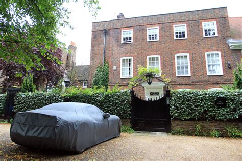 george michael house london george michael s ferrari outside his london home zimbio