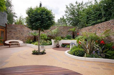 backyard landscaping garden design london contemporary garden designer se3