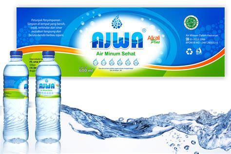 desain kemasan botol air mineral sribu desain label desain label untuk air mineral quot ajwa quot