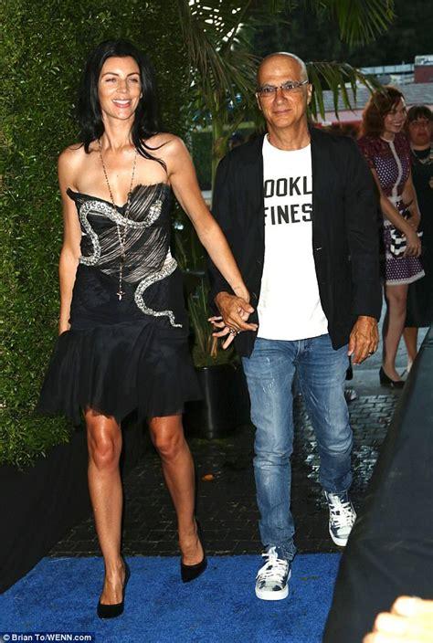 liberty ross jimmy iovine james corden poses with wife julia at carpool karaoke bash