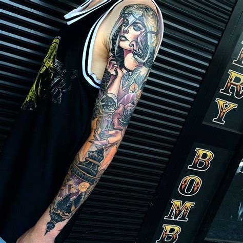 cloak and dagger tattoo 1000 images about sleeves on cool