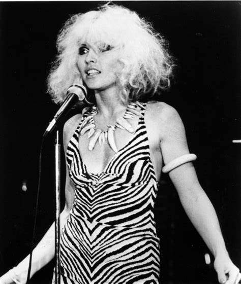debbie harry singer new book of candid photos reveals what made blondie star