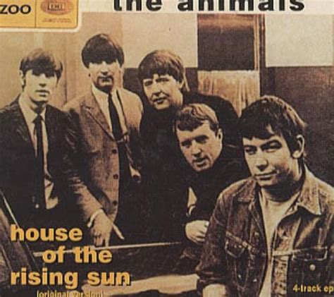 animals house of the rising sun lyrics the animals house of the rising sun ep greece promo cd single cd5 5 images frompo