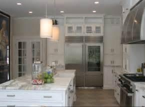 limestone tiled floor contemporary kitchen cjb designs
