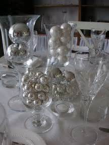 silver table centerpieces black white silver table setting reception