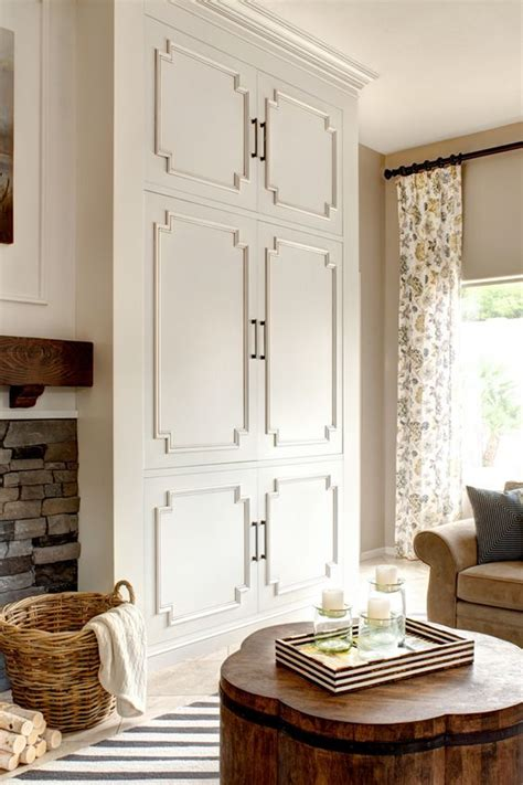 Living Room Cabinets With Doors by The Moldings Beautiful Cabinet Doors Living Room