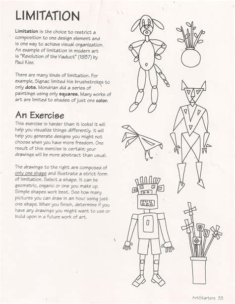 the artist s workbook easy to follow lessons for creating your own characters no corner suns ande cook s limitation worksheet with a
