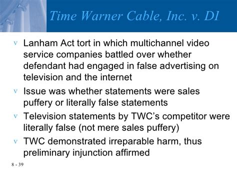 section 43 a of the lanham act chapter 8 intellectual property and unfair competition