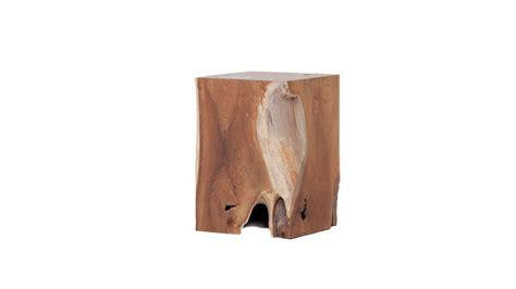 solid teak wood stool hip
