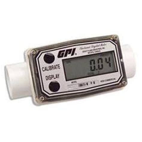 in line flow meter (poly 2 20 gpm) — ttt environmental