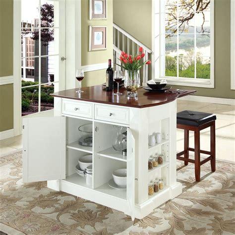 kitchen island cart with breakfast bar kitchen islands with breakfast bar crosley furniture