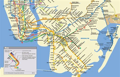 ny city subway map transit maps new york city mta subway map jigsaw puzzle puzzlewarehouse