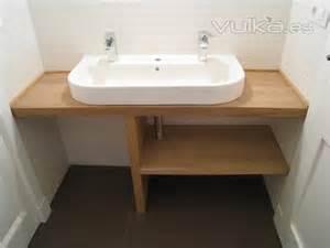 encimera iroko foto lavabo sobre encimera iroko