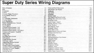2006 ford f 250 thru 550 super duty wiring diagram manual