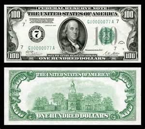 free 100 dollar bill template