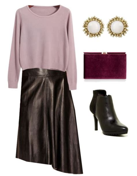 how to style a leather skirt splendry